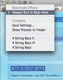 WIDI Audio To MIDI Audio Unit Online Help - Digital Performer