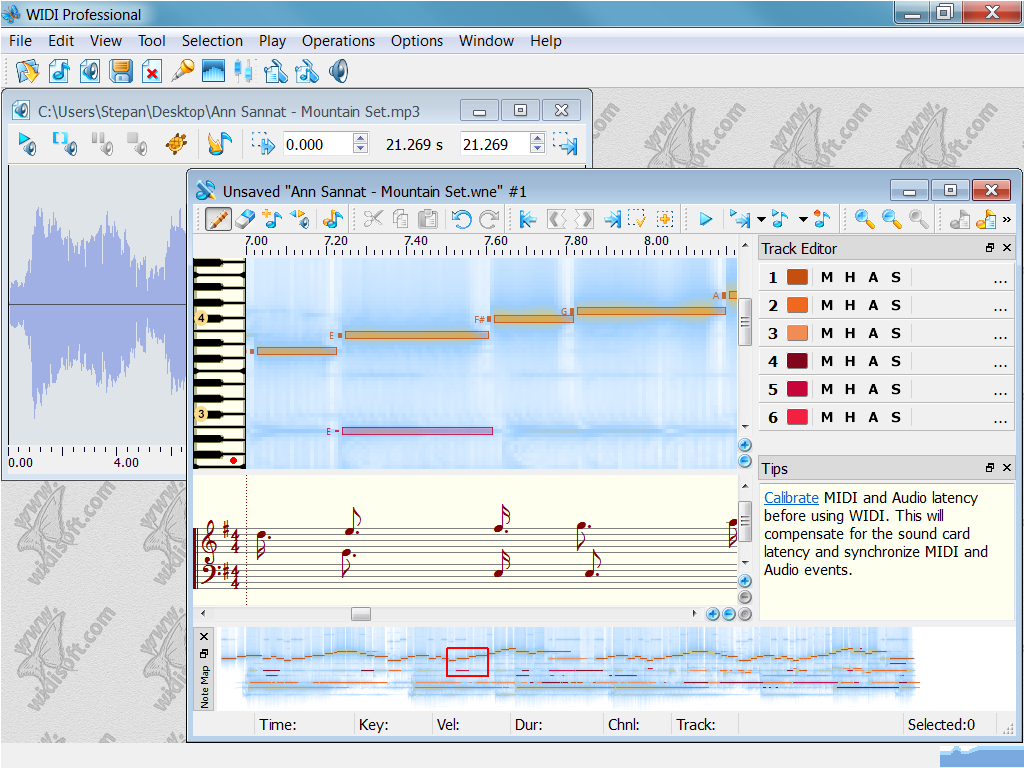 free software to convert mp3 to midi